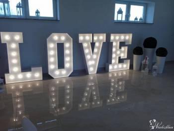 Bogata oferta dekoracji światłem, Napis LOVE 130 cm!, Dekoracje światłem Kamieńsk