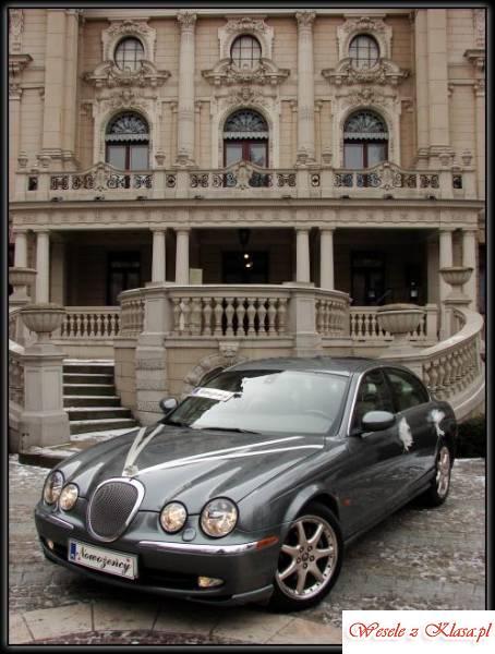 Srebrny Jaguar S-TYPE - idealny na Twój Ślub, Łódź - zdjęcie 1