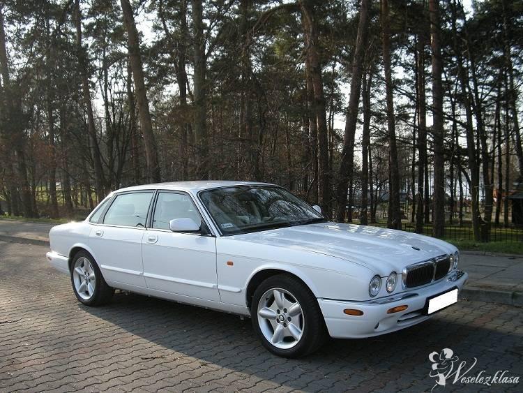 Samochód do ślubu BIAŁY LUKSUSOWY JAGUAR XJ8 , Tychy - zdjęcie 1