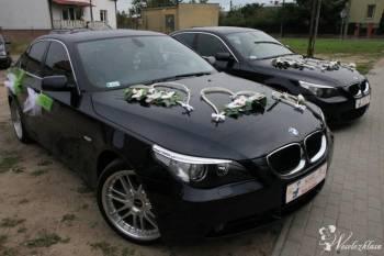 BMW e60 - Auto do ślubu, Samochód, auto do ślubu, limuzyna Oborniki Śląskie
