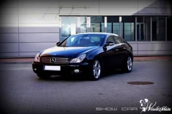 Piękny Mercedes CLS, Samochód, auto do ślubu, limuzyna Strzelno
