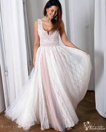 suknieboho wyjątkowe suknie ślubne na miarę, Salon sukien ślubnych Pilawa