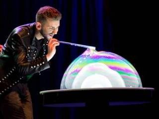 Magic Bubble Show - niezwykle widowiskowy pokaz GWIAZDY MAM TALENT!,  Warszawa