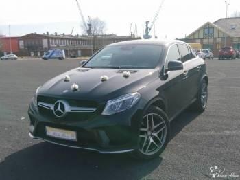 Mercedes GLE czarny, luksusowe auto na wyjątkowe okazje, Samochód, auto do ślubu, limuzyna Szczecin