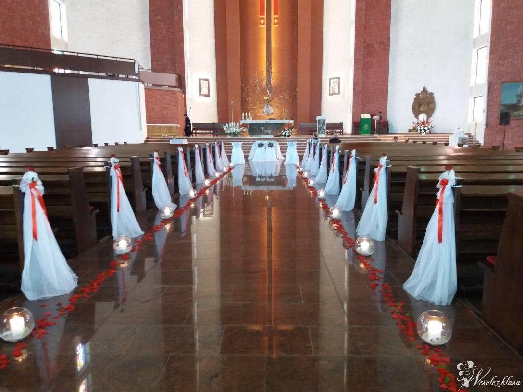 Bukiety ślubne dekoracja kościoła,sali MARTADECOR, Gdańsk - zdjęcie 1