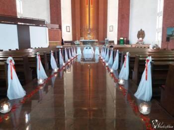 Bukiety ślubne dekoracja kościoła,sali MARTADECOR, Kwiaciarnia, bukiety ślubne Hel