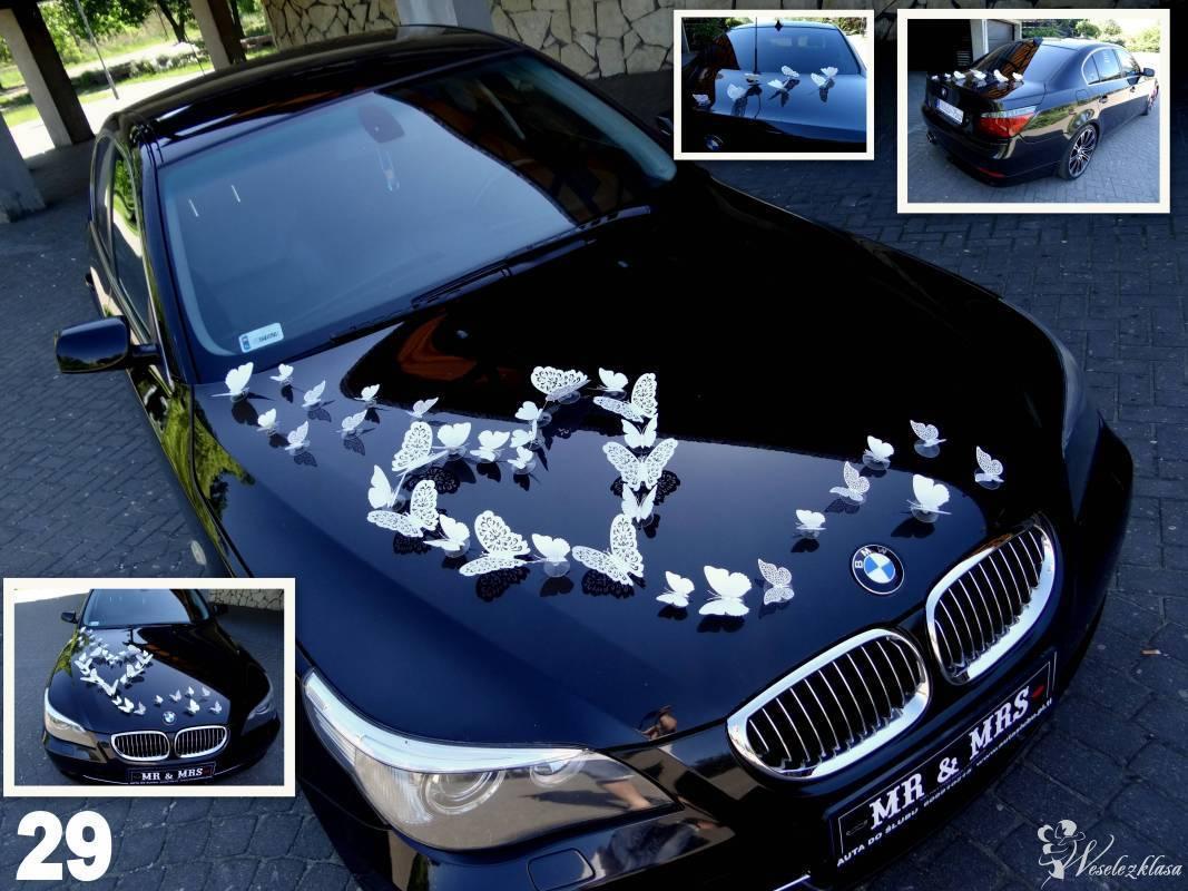 Auto & Motor do ślubu  BMW 5 + 29 dekoracji GRATIS !!! ---autaslubu---, Złoczew - zdjęcie 1