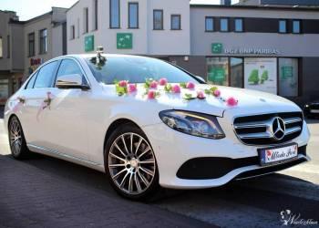 Dwa piękne Mercedesy E klasa W213!, Samochód, auto do ślubu, limuzyna Łask