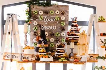 Słodkie stoły Torty weselne, Słodki kącik na weselu Jastarnia