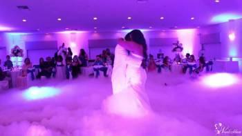 Dekorowanie światłem sal weselnych i bankietowych. Ciężki dym., Dekoracje światłem Oleszyce