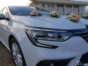 Megane Grandcoupe do ślubu, Samochód, auto do ślubu, limuzyna Nowy Staw