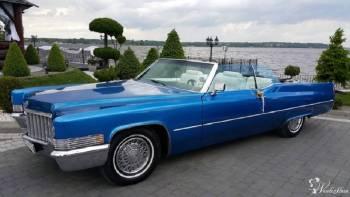 Cadillac de Ville teledysk CLEO, Samochód, auto do ślubu, limuzyna Karczew