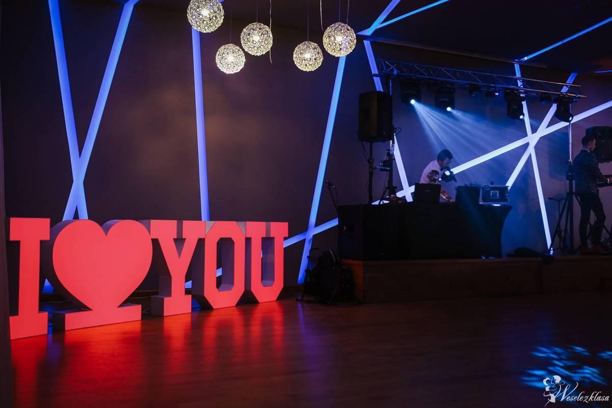 Napis świetlny KOLOROWY I(serce)YOU wesela i nie tylko, Starogard Gdański - zdjęcie 1