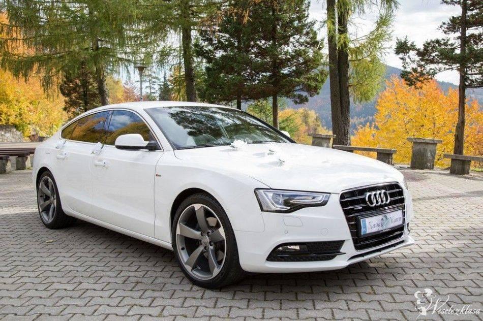 Białe Audi A5 S-line , Brodnica - zdjęcie 1