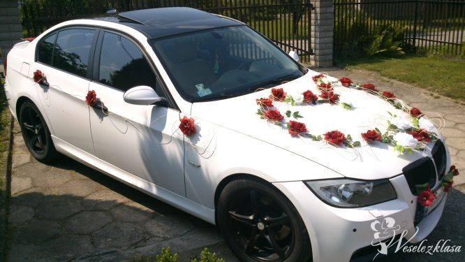 Piękne BMW E90 Białe do Ślubu, Cieszyn - zdjęcie 1