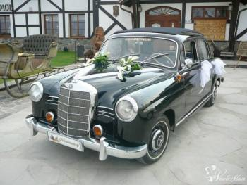 """Mercedes Benz W 120 """"KUBUŚ"""" do wynajęc, Samochód, auto do ślubu, limuzyna Sztum"""