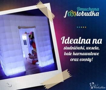 Dmuchana Fotobudka - LEDowa Fotokabina | Gadżety |  Obsługa, Fotobudka, videobudka na wesele Rypin