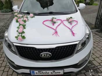 Auto do ślubu elegancka Kia Sportage, Samochód, auto do ślubu, limuzyna Żabno