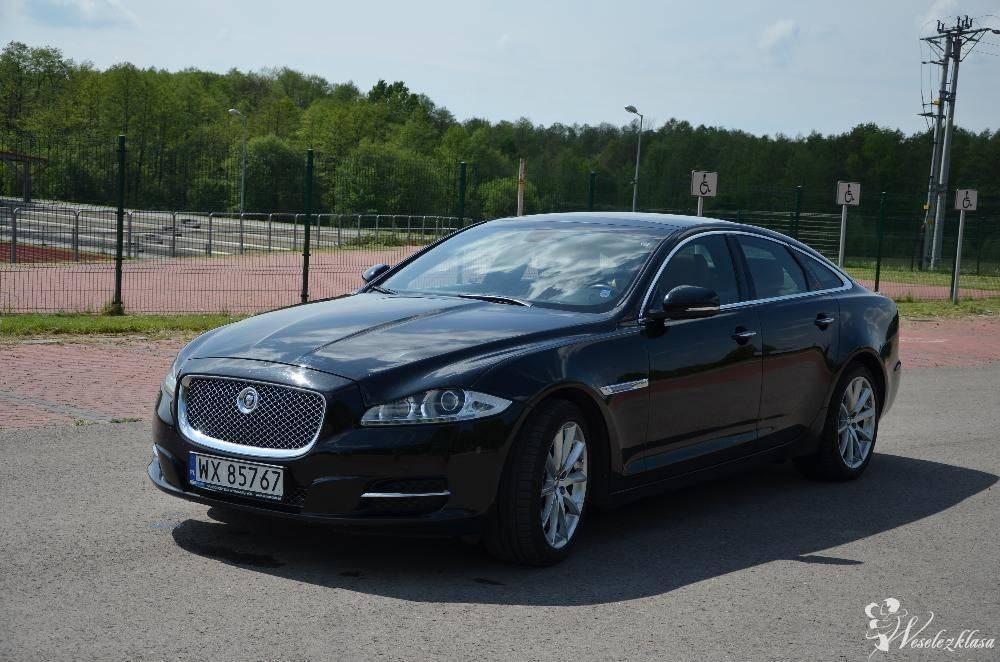 Auto do ślubu - limuzyna Jaguar XJ Business Class, Ułęż - zdjęcie 1
