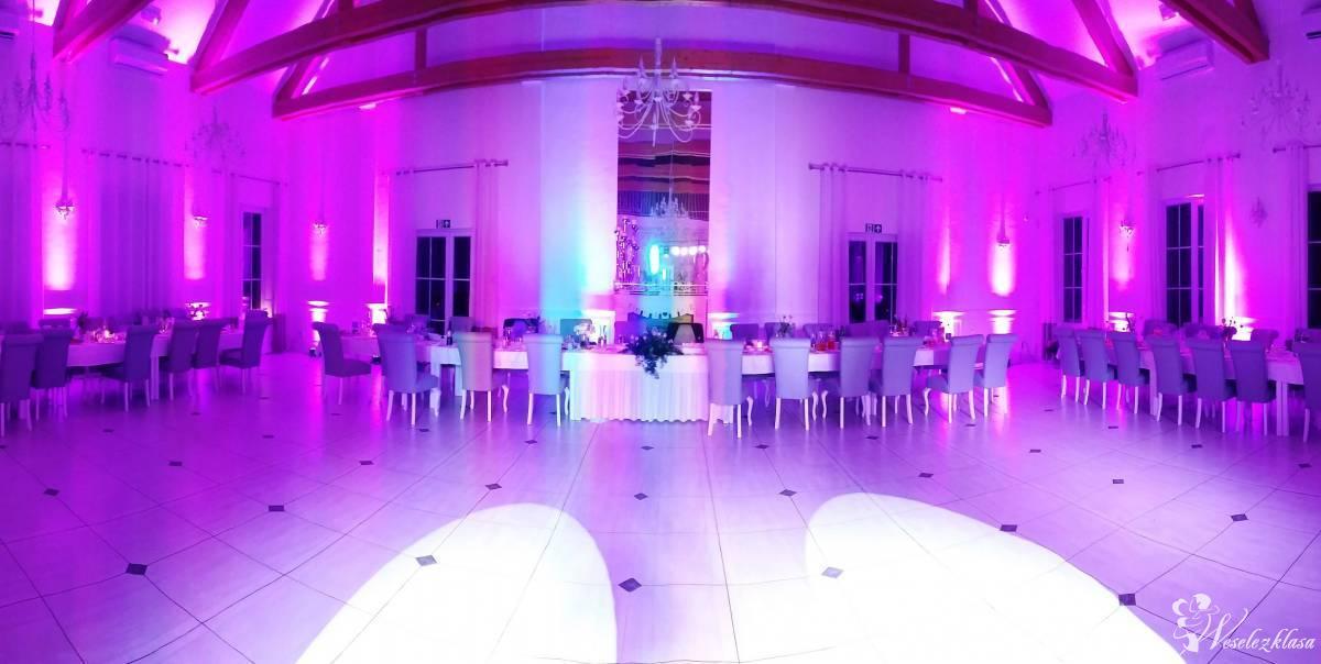 Świetlna dekoracja sali weselnej, Jelenia Góra - zdjęcie 1