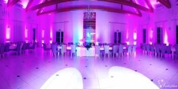 Świetlna dekoracja sali weselnej, Dekoracje światłem Karpacz