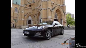 Porsche Panamera szybko i z klasą do ślubu, Samochód, auto do ślubu, limuzyna Łódz