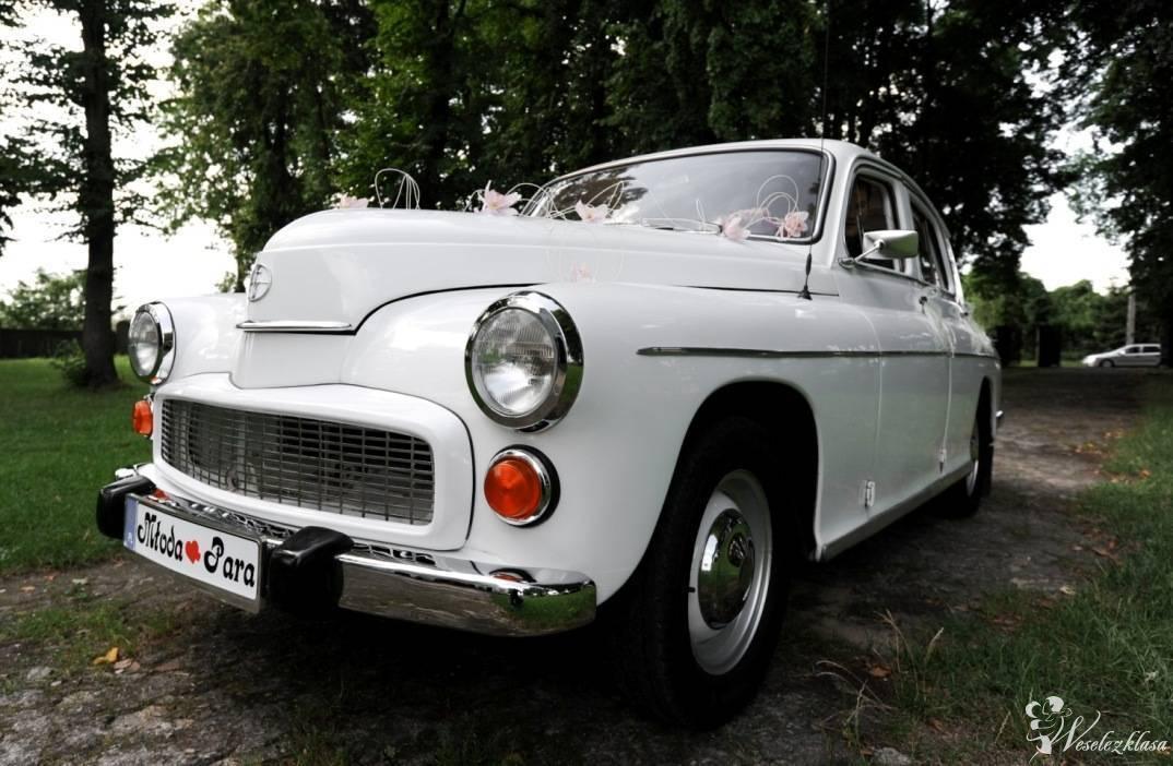 Zabytkowe Auto FSO *Warszawa* 223 *Biała*, Warka - zdjęcie 1