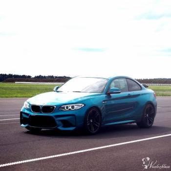 Sportowe BMW M2 wynajem do ślubu, Samochód, auto do ślubu, limuzyna Zawidów