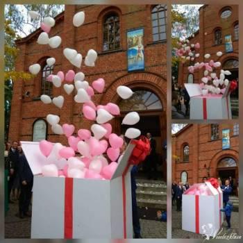 Bańki mydlane Prezent Balonowy Podświetlane Balony LED Czerwony Dywan, Balony, bańki mydlane Nidzica