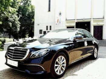 Mercedes E-klasa., Samochód, auto do ślubu, limuzyna Warszawa