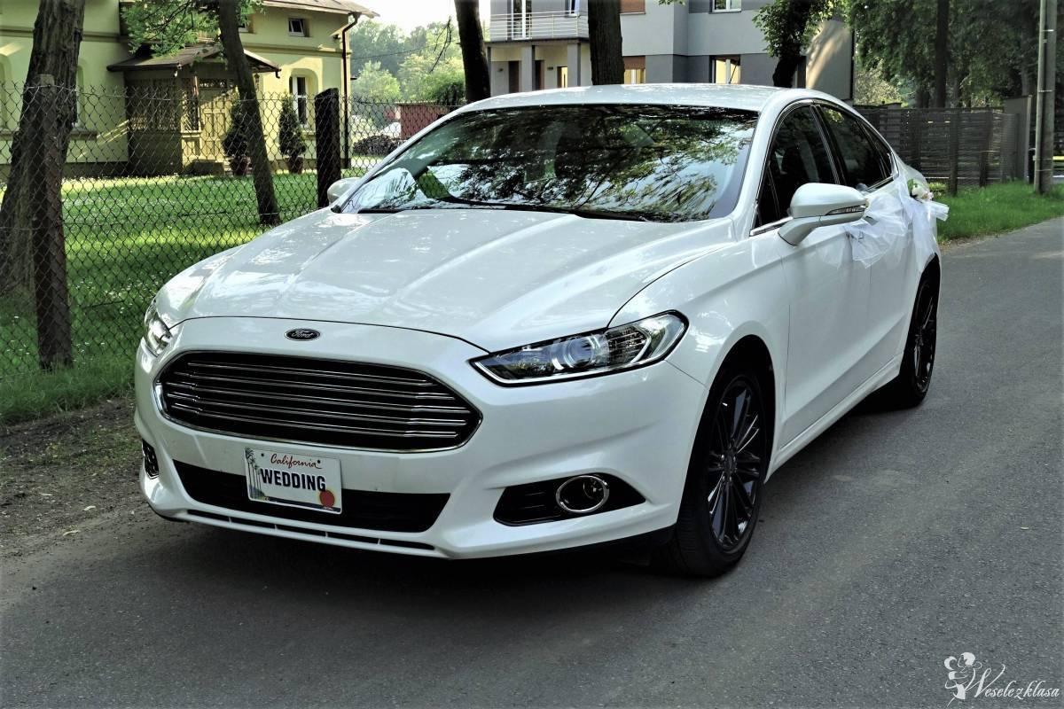 *Biała* perła- amerykański Ford Mondeo - 450 zł za pakiet, Ksawerów - zdjęcie 1