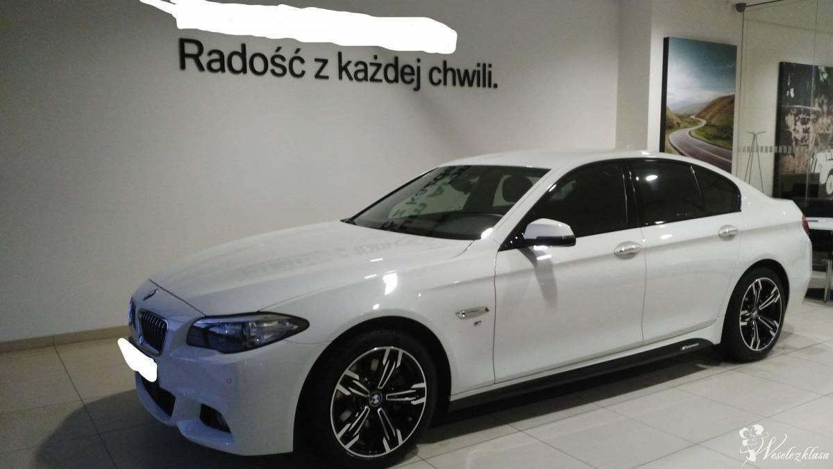 BMW 5 F10 M-pakiet Śliczny Biały :) , Legnica - zdjęcie 1