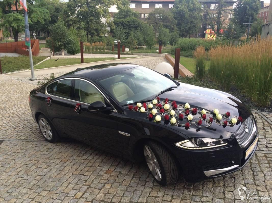 Czarny Jaguar XF na wyjątkowy dzień., Tarnowskie Góry - zdjęcie 1