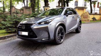 LEXUS NX w prestiżowym kolorze Grafitowy Metalic + Pakiet BLACK, Samochód, auto do ślubu, limuzyna Skała