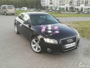 Audi A5 na wesele / ślub, Samochód, auto do ślubu, limuzyna Knyszyn