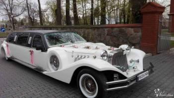 Piękne i luksusowe limuzyny LINCOLN CAR TOWN i EXCALIBUR z barkiem, Samochód, auto do ślubu, limuzyna Rejowiec Fabryczny