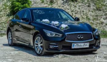 Luksusowa limuzyna INFINITI Q50, Samochód, auto do ślubu, limuzyna Nałęczów