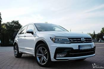 Nowy Volkswagen Tiguan - maksymalne wyposażenie, Samochód, auto do ślubu, limuzyna Zduńska Wola