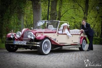 Auta do ślubu. Kabriolet Retro 6-osobowy., Samochód, auto do ślubu, limuzyna Mosina