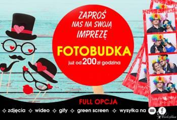 Fotobudka od 200zł/godzina | FotoKojtek, Fotobudka, videobudka na wesele Łazy