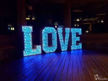 Napis LOVE 120 cm - dowolna kolorystyka! Ażurowa nowość!, Napis Love Wadowice