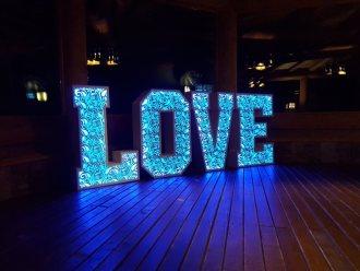 Napis LOVE 120 cm - dowolna kolorystyka! Ażurowa nowość!,  Wadowice