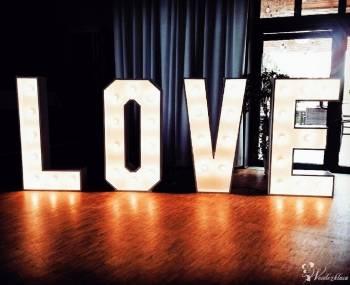 Napis LOVE - 140 cm wysokości - wolne terminy 2019!, Napis Love Łask