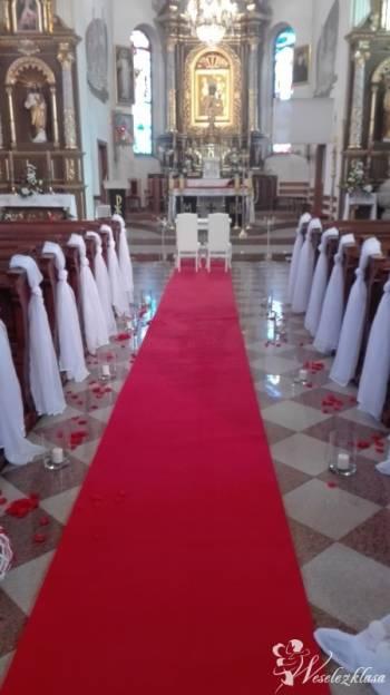 Dekoracja kościoła, Dekoracje ślubne Dobczyce