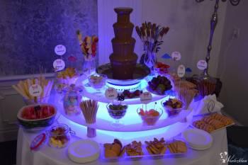 Fontanna czekoladowa, fotobudka, wynajem fontanny, Atrakcje weselne, Czekoladowa fontanna Sanok