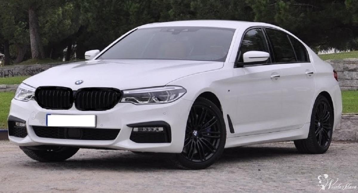 Ekskluzywne *nowe* BMW  G30 M-pakiet do slubu *Biały*, Mława - zdjęcie 1