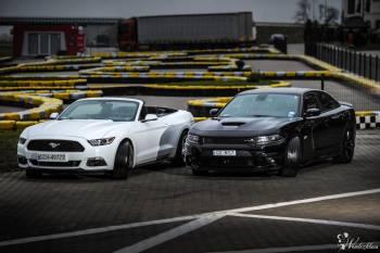 Amerykański Ślub - Mustang & Dodge Charger, Samochód, auto do ślubu, limuzyna Chojnice