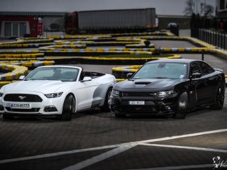 Amerykański Ślub - Mustang & Dodge Charger,  Chojnice