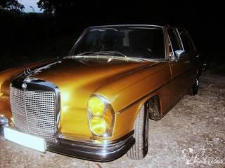 Wyjątkowy Złoty Mercedes - limuzyna do ślubu,  Piaseczno