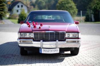 Cadillac DeVille, Citroen C6 do ślubu, Samochód, auto do ślubu, limuzyna Ustroń